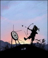 Hawkeye Kid by AndyFairhurst