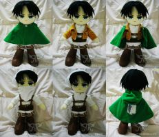 SnK - Levi by renealexa-plushie