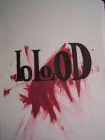 Blood by FalloutLuver13