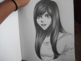 New Sketchbook: First Entry by KyteLeonhart