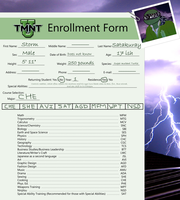 Storm TMNT U enrollment form 2014 by Peacely