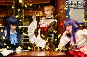 Umineko Cosplay: It's Tea Time, Bitches by Redustrial-Ruin