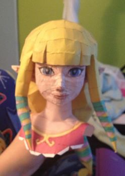 Skyward Sword - Zelda WIP by deryer