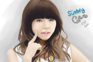 Sunny in Gee Paint by deAtHwiSH90