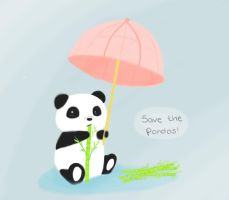 Save the Pandas by lush4tom4eva