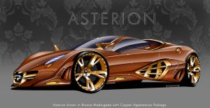 Quimera Asterion - Bronze by MDominy
