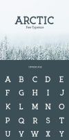 Arctic Free Font by Designslots