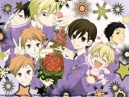 Ouran Host Club Wallpaper by xXmariisa23Xx