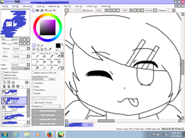 Yeheyyy a face has been made haha XD W I P by LilyKittyCat