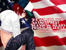 Forth of July Background by GrandLove09