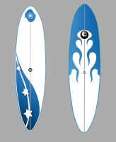 Surfboard by Santini
