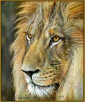 Regal - painting by Lynne-Abley-Burton