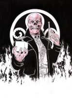 Red Skull by jasonbaroody