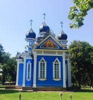 Lithuania Russian Orthodox Church by Jussetta-Stock
