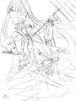 DGM - fearsome foursome by majochan