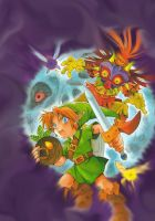 Legend of Zelda Majora's Mask by haku666