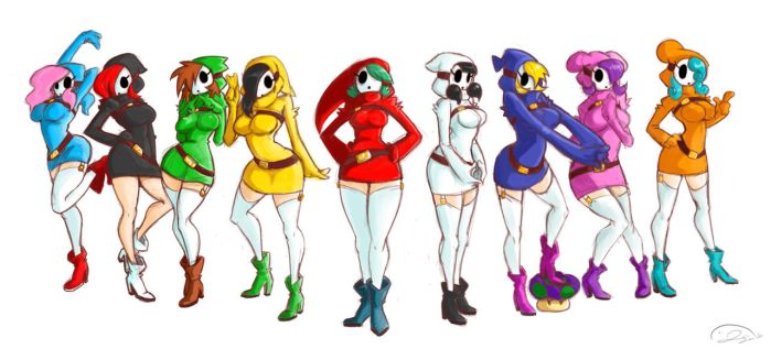 shygirls-MINUS 8 by pleague