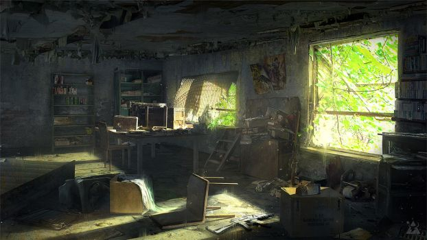 Abandoned Room by wwysocki