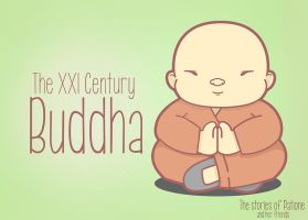 The XXI Century Buddha by patione