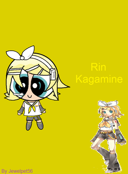 Puffed Kagamine Rin by Jewelpet56