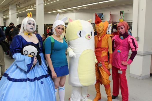 Adventure Time: Genderbent AAC by xstrawberrymilk