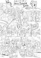 A Day in Equestria for Twily page 1 by Jowybean