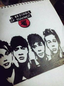 5sos fanart by ilovethisgame914