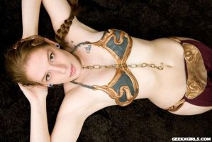 Slave Leia by playertwogxg
