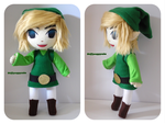 Toon Link Plush by TiffyyyCuppyCake