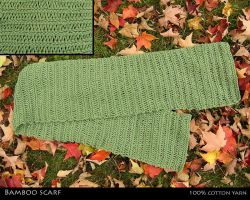 bamboo scarf by mailledragon