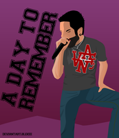 Jeremy Mckinnon from A DAY TO REMEMBER by Blekee