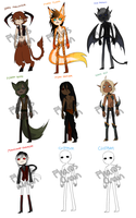 Adoptable Batch 1 October [OPEN] by Pharos-Chan