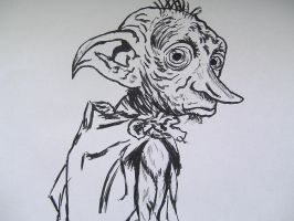 Dobby close-up by AdushS