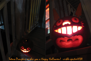 A Very Totoro Halloween by visiblespectre