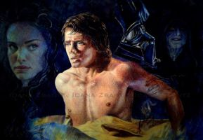 Anakin's bad dream F. by LilDevilAriel