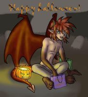Halloween 04 - finished by merrypaws