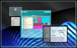 CrystalClear Interface 2.0, 1 by marsmuse