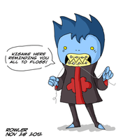 Baby Kisame Flossing by Lilnanny