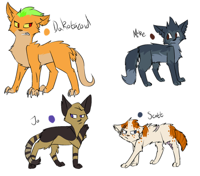 Total Drama, Characters pt 9 by Drama-kitty