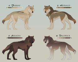 Wolf Adopts: CLOSED by Welihn