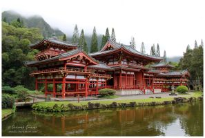 Byodo-In Temple by Cynnalia