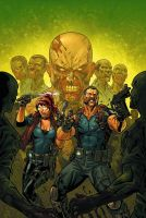Resident Evil 2 cover colors by Kevin-Sharpe