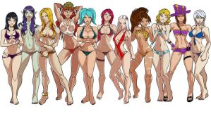 LOL Swimsuit Expo by Zeegen