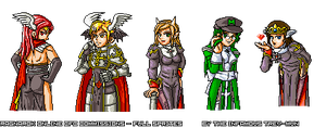CFC - RO Fans Sprites No. 13 by trevmun
