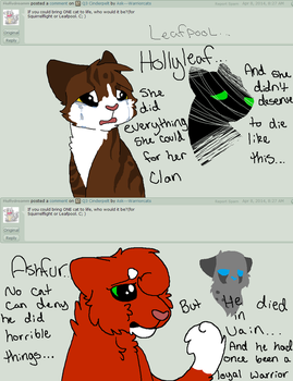 Q5- Leafpool and Squirrelflight by Ask---Warriorcats