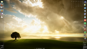 Windows 7 Second Taskbar by countedfor