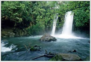 Bisan waterfalls by inPalestine