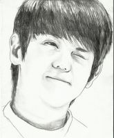 Yoseob- art trade with YouHave1Message by topistops