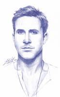 Ryan Gosling by friedChicken365