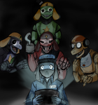 Five Nights at Keroro's by MakTheHedge01